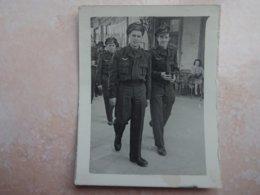 Photo Originale Guerre 39/45 Groupes De Militaires - Krieg, Militär