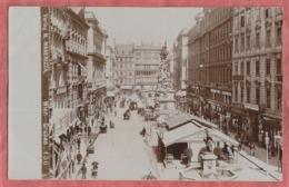Wien Graben - Fotokarte Ca. 1900 - Wien Mitte