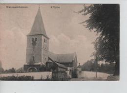 CBPNCPB9/ Belgique-België CP Watermael-Boistfort L'Eglise 1919 C.Watermael > Trochiennes-lez-Gand - Watermael-Boitsfort - Watermaal-Bosvoorde