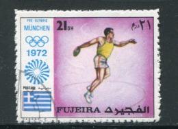 FUJEIRA-  Timbre Oblitéré - Leichtathletik