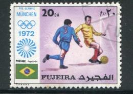 FUJEIRA-  Timbre Oblitéré - Fussball
