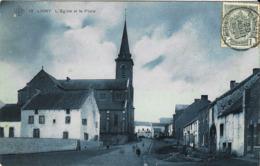 12  Ligny - L'Eglise Et La Place - Belgio