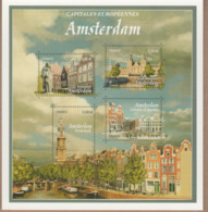 ENTIER POSTAL Capitales Europeennes AMSTERDAM. VOIR SCANS Recto Verso - Biglietto Postale