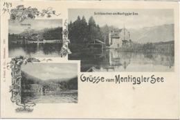 1900/1913 - EPPAN  Montiggler See , Gute Zustand, 2 Scan - Bolzano (Bozen)