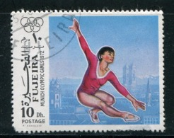 FUJEIRA-  Timbre Oblitéré - Gymnastik