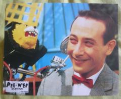 8 Photos Du Film Pee-Wee Big Adventure (1987) - Albums & Collections