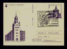 POLOGNE Grodzisk City Bier Beer 1977 Bières Boissons Drinks (postal Stationery SZCZECIN) Gc4425 - Biere
