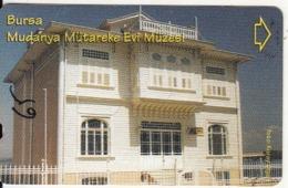 TURKEY - MudanyaMytareke Evi Museum/Bursa(30 Units), Exp.date 10/06, Used - Turchia