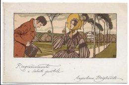 Illustratori - Meissner & Buch,Leipzig. Kunstler. Serie 1159. Als Der Grossvater Die Grossmutter Nahm. Gesetzl. Gesch. - Illustratori & Fotografie