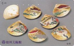 Télécarte Japon / 110-011 - COQUILLAGE PEINT - PAINTED SHELL Japan Phonecard - MUSCHEL - SCHELPEN - 527 - Telefoonkaarten