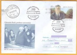 2007 Moldova Moldavie Moldau  FDC Cover  Gerasim Rud - Scientist, Agriculture, Professor. - Moldawien (Moldau)