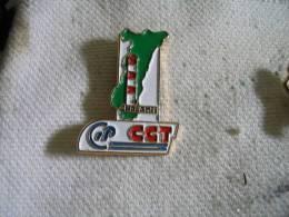 Pin's De La CGT Chez Rhone Poulenc Du Site De CHALAMPE (68) - Administraties