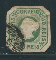 PORTUGAL  N° 3 Obl. Aucun Défaut Hors Découpe - 1853 : D.Maria