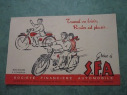 S.F.A. - Travail Ou Loisir, Rouler Est Plaisir - Moto & Vélo