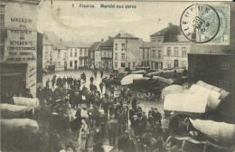 1 Fleurus. Marché Aux Porcs. - Fleurus