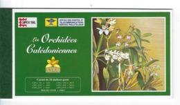 "Nle-Caledonie Carnet YT C714 "" Orchidées "" 1996 Luxe - Booklets"