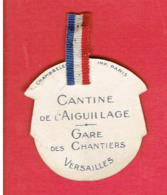 JOURNEE 1914 1918 WWI CANTINE DE L AIGUILLAGE GARE DES CHANTIERS VERSAILLES PRESIDENTE Mde GEORGES TRUFFAUT JARDINIER - 1914-18