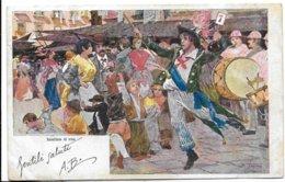 Illustratore - Napoli - Banditore Di Vino. - Illustratori & Fotografie