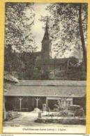 1931 CHATILLON Sur LOIRE- Vue Peu Courante Sous Cet Angle EGLISE - Chatillon Sur Loire