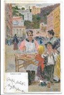 Illustratore - Venditore Di Focacce (Napoli O Palermo). - Illustratori & Fotografie