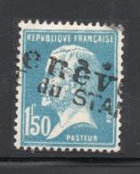 OBLITERATION SUISSE SUR TIMBRE YT 181 GENEVE - Marcophily (detached Stamps)