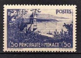 MONACO 1933 / 1937 -  Y.T. N° 137  -  NEUF** /4 - Nuovi