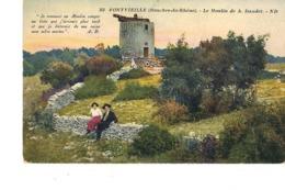 13 FONTVIEILLE LE MOULIN DE A . DAUDET - Fontvieille