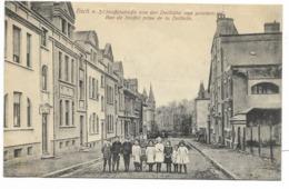 ESCH A. A.-Rue De Stoffel Prise De La Dellhöh...1919  Animé  (haut Papier Légèrement Marqué) - Esch-Alzette