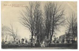 ESCH A. A.-Le Cimetière Catholique...1919  Animé - Esch-Alzette
