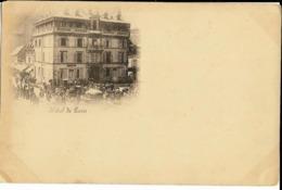 Hôtel De Paris (MONT DORE), Carte Nuage, Dos Simple (petit Plis Bas Gauche) - Le Mont Dore