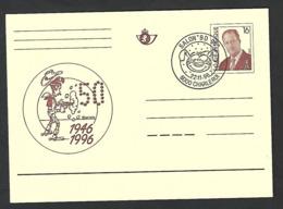 Lucky Luke - Morris Strip BD Comic Cartoon Stempel Charleroi - Stamped Stationery