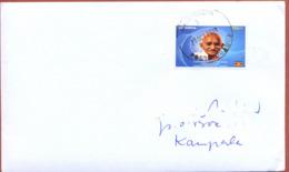 UGANDA Domestically Used Cover With UGX 700 2019 Gandhi Stamp OUGANDA #015 - Oeganda (1962-...)