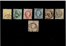 Austria ,serie Completa Usata ,qualita Splendida - 1850-1918 Impero