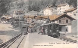 CPA  Suisse, FINHAUT, La Gare, 1907 - VS Valais