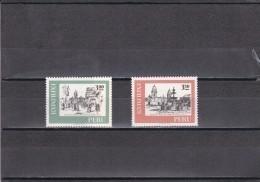 Peru Nº 544 Al 545 - Perú
