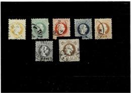 Austria ,serie Completa Usata ,eccezionale - 1850-1918 Impero