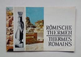 Bulgaria Bulgarie Varna Roman Baths Thermes Romains Tourist Brochure Depliant Touristique 60's - Tourism Brochures