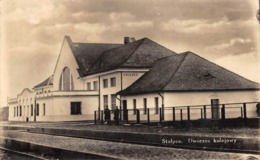 CPA - Pologne / Belarus, STOLPCE, Dworzec Kolejowy, Gare, Bahnhof, Carte Photo, 1939 - Polonia