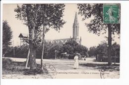 53 - Cabourg - L'Eglise à Travers Les Arbres - Cabourg