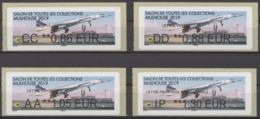 Vignettes Lisa Concorde Salon Toutes Collections Mulhouse 2019 (valeur : 0.86-0.88-1.05-1.30 Euros)neuves - 2010-... Geïllustreerde Frankeervignetten