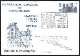 Gran Bretagna/Great Britain/Grande-Bretagne: Congresso Filatelico, Philatelic Congress, Congrès Philatélique - Philatelie & Münzen