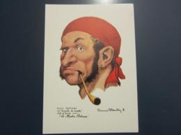 Carte Postale Les Corsaires Etienne Blandin Martin MARTINEAU Dit Gueule De Gratte - Andere Zeichner