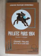 France Filatec Paris1964 International Stamp Exhibition Guide Catalogue Exposition Philatelique Internationale - Altri