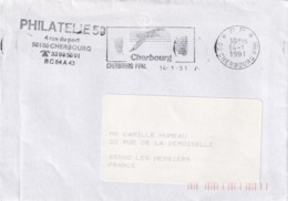 Cherbourg 1991 - Postmark Collection (Covers)