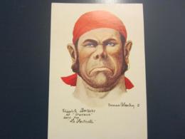 Carte Postale Les Corsaires Etienne Blandin Théophile Berthelot Dit Gracieuse - Andere Zeichner