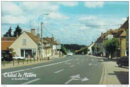 Carte Postale 03. Châtel-de-Neuvre   Le Bourg Trés Beau Plan - France
