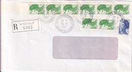 LA TESSOUALLE De1987 - Postmark Collection (Covers)