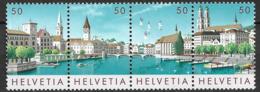 1984 Schweiz  Suisse  Mi. 1276-9**MNH   Nationale Briefmarkenausstellung NABA ZÜRI '84 - Schweiz