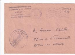 La Roche Sur Yon De 1981 - Postmark Collection (Covers)