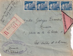 Quimper - 1948 - Postmark Collection (Covers)